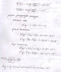 Przejście sygnału okresowego przez układ o określonej transm