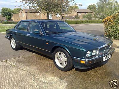 Jaguar XJ40 93r - silnik i cisnienie oleju.