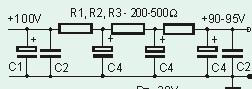 Wzmacniacz słuchawkowy na ECC88 - nie działa