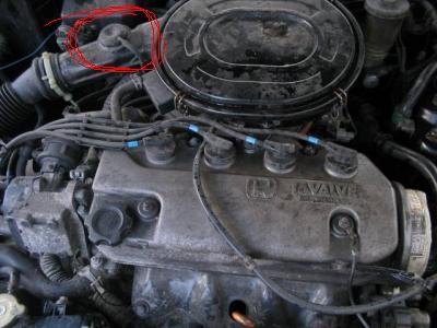 HONDA CIVIC D13B2 - nagle zgasł motor