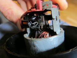 wentylator dmuchawy wymiana silnika