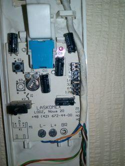 Unifon Laskomex LM-8W - Regulacja głośności wywoływania