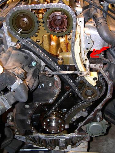 Seat Toledo II  2.3 v5 wymiana rozrz�du lub naci�gni�cie