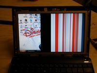 Asus Eee PC 1001PX - Ekran wyswietla 30% reszta ekranu nico