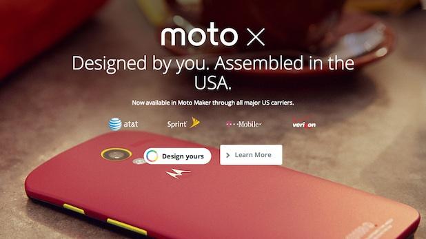 Motorola - Moto Maker dost�pny u kolejnych operator�w kom�rkowych