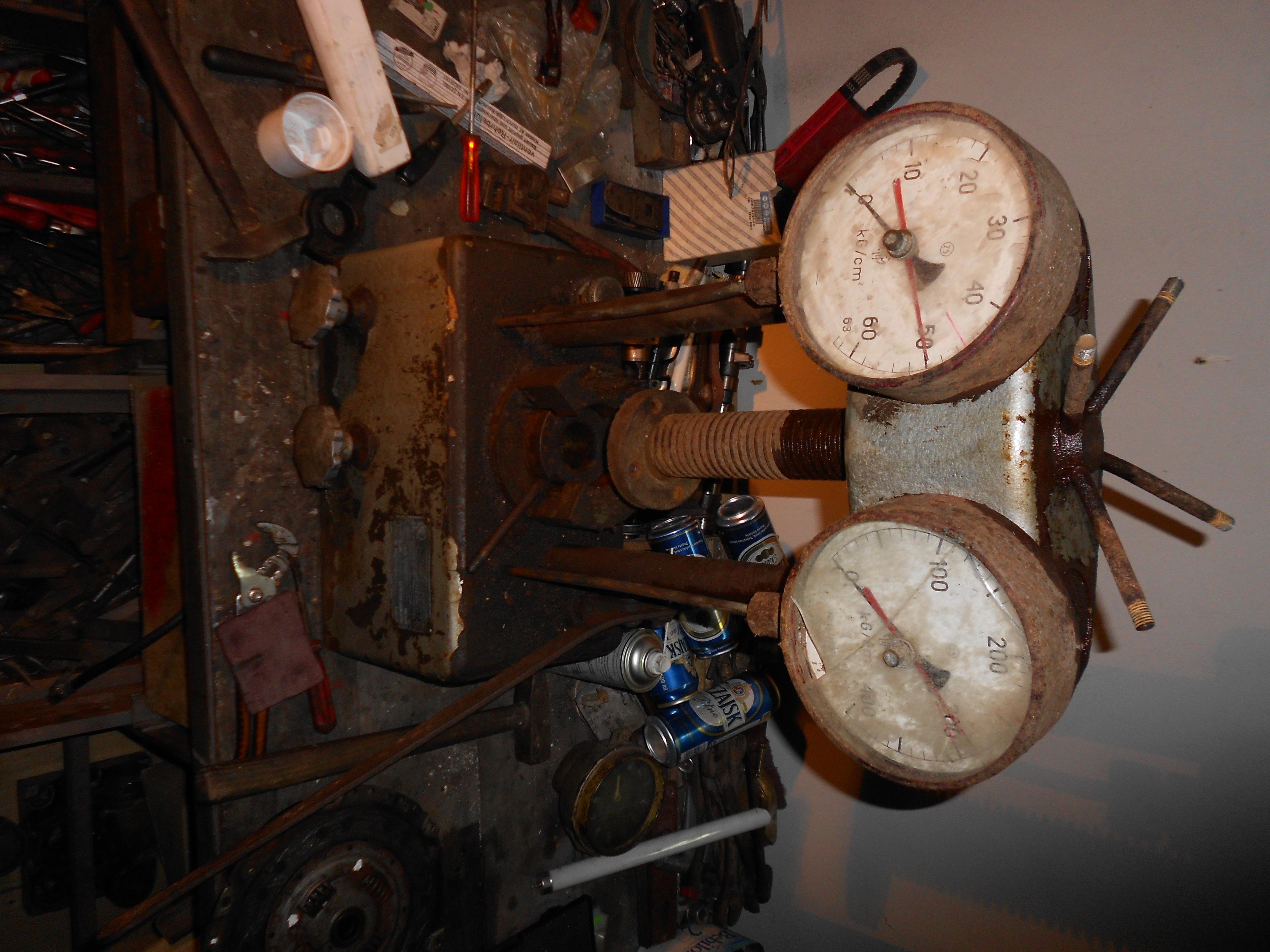 Prasa hydrauliczna WK13 z 1958r