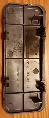 Panasonic NN-S255W - Uszkodzony magnetron, brak płytki mikowej.