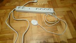 Listwa antyprzępięciowa z wyłącznikiem - nie działa pomimo zapalonej diody