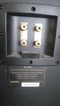 Jaki wzmacniacz do TI-1250 300W każda