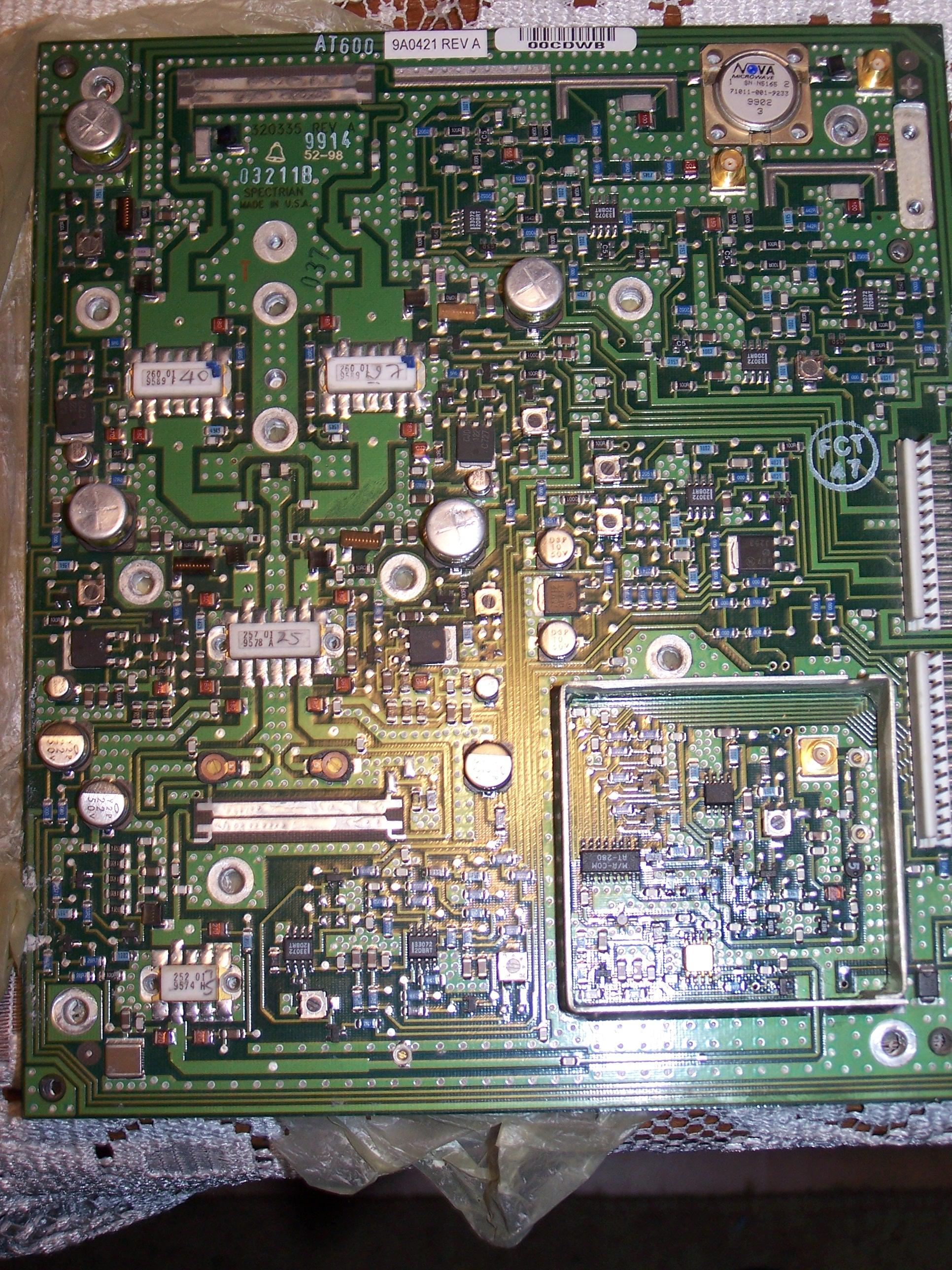 Szukam informacji o tranzystorach z pasma 2GHz - 252(9574 H); 257(9578 A); 260(9