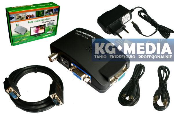 Jak i jakim przewodem pod��czy� kamer� CCD(monitoring) do laptopa?