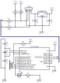 Realizacja komunikacji USB z procesorem AVR