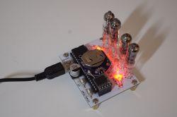 Zegarek na lampkach inkandescencyjnych IV-9