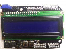 Shield z LCD 2 x 16 i klawiaturą LCD1602 - made in China - Recenzja.