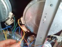 Mastercook 2470 (KC2470X PLUS) niedziałający palnik.