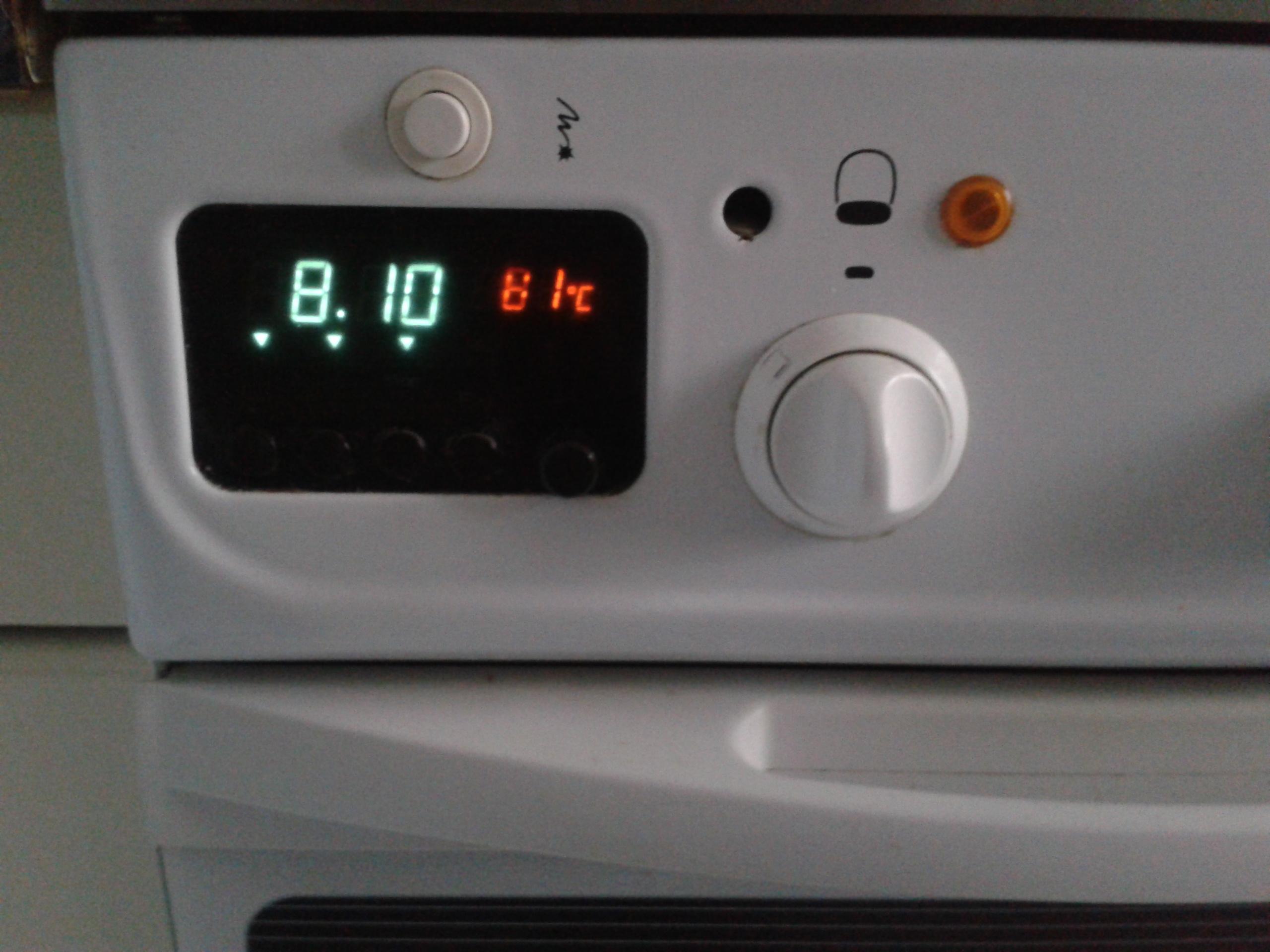 kuchenka mastercook nie dziala zegar