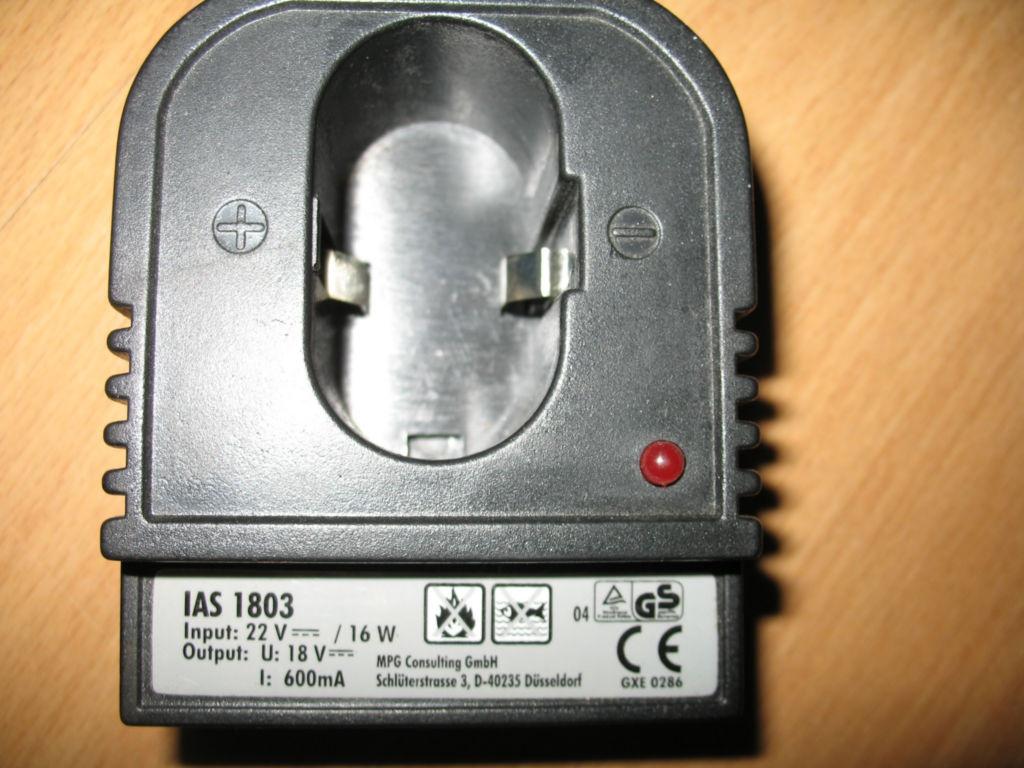 Jaki zasilacz do �adowarki baterii od wkr�tarki 18V ?