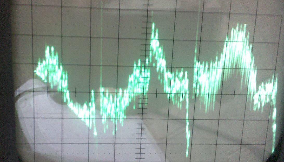 Sonda  lambda + oscyloskop analiza sygna�u