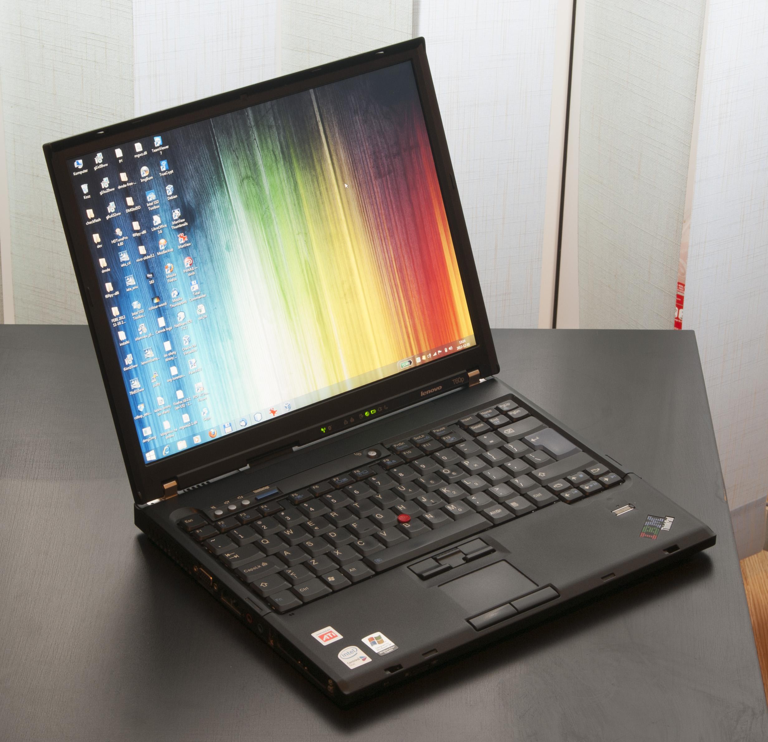 [Sprzedam] Lenovo T60p w bardzo mocnej konfiguracji