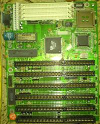 Am386 SX-40 - Wyczyszczenie płyty głównej z patyny