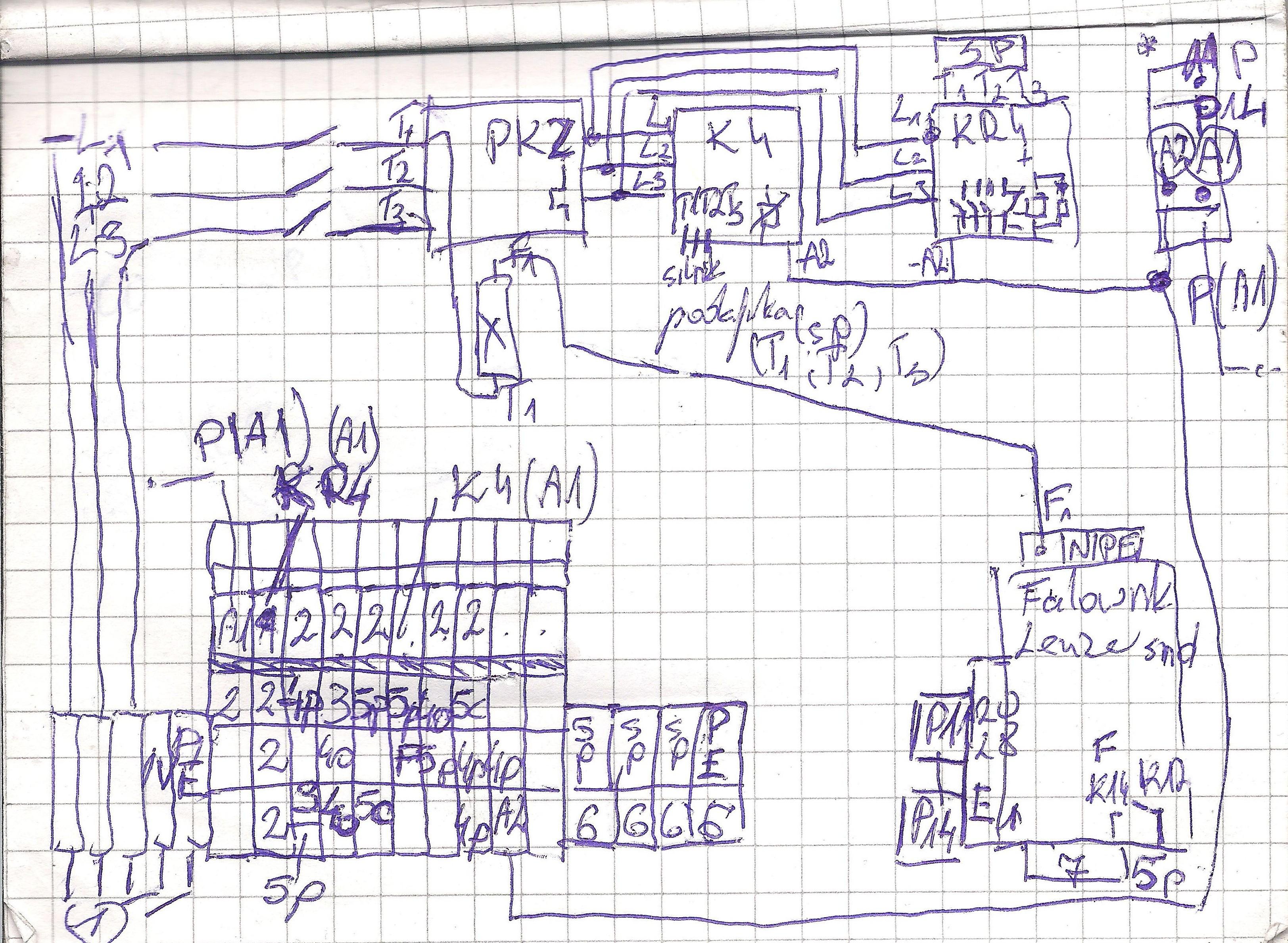 Prosz� o pomoc w narysowaniu schematu