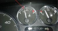 Peugeot 307 sw 1.6HDI - temperatura płynu poniżej 80 st.
