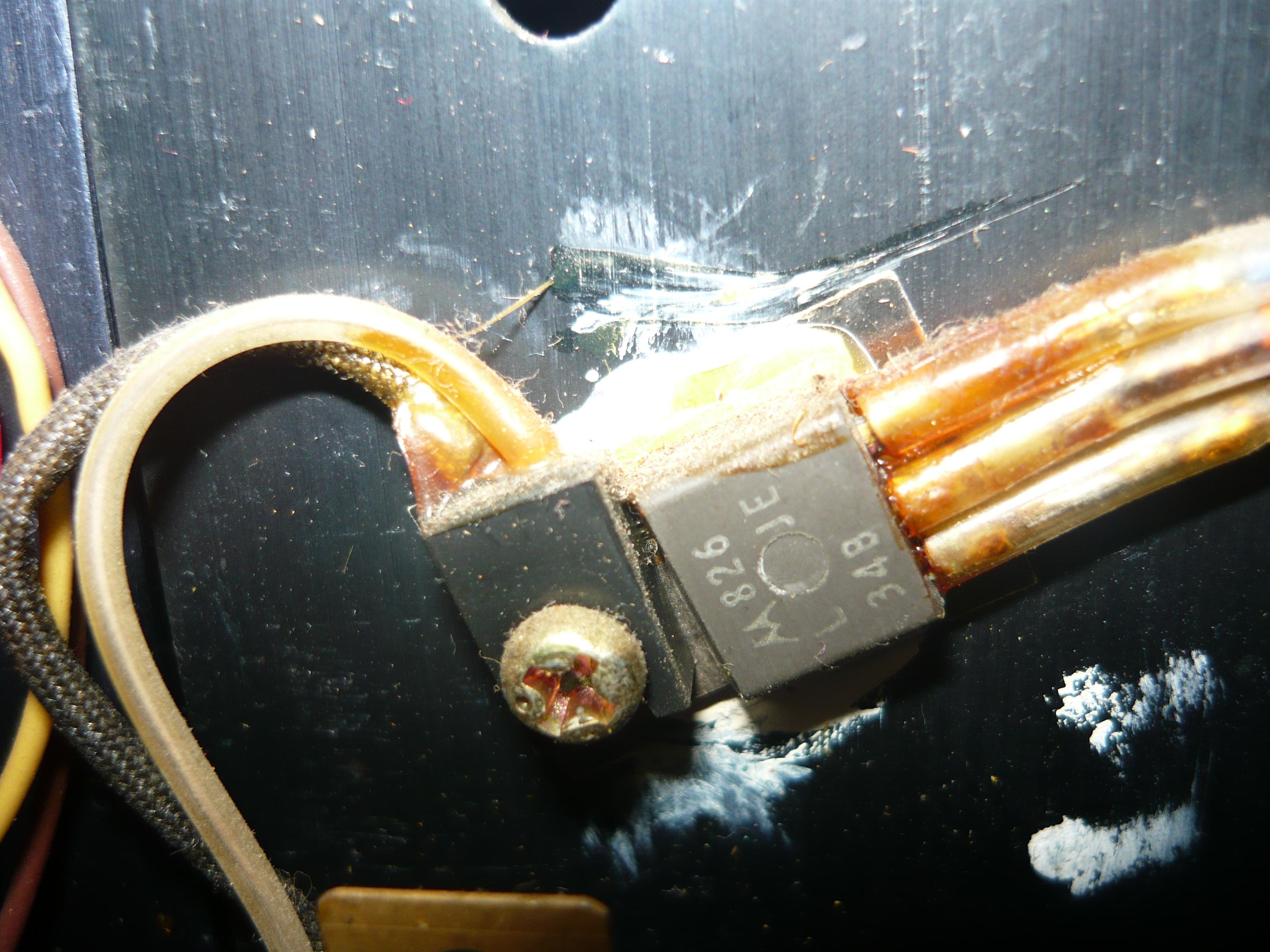 ELECTOWN A616 - Tranzystory ko�cowe rozpoznanie