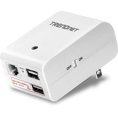 TRENDnet TEW-714TRU - router podr�ny z wbud. zasilaczem i wymiennymi wtykami