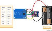 Czytnik tagów RFID z wbudowanym interfejsem Wi-Fi