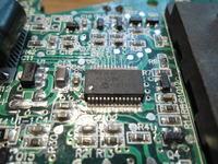 AEG L1815R PRO 18V Li-ion 1.5 - Migają 4 diody jednocześnie