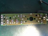 Skoda Octavia - Wymiana LED z zielonych na czerwone. Radio z nawigacja.