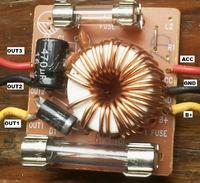 Filtr przeciwzakłóceniowy CB - Jak podłączyć złącza ACC, GND i B+
