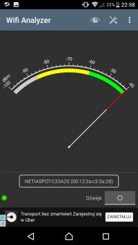 Problem z wifi-po kablu ok NETIASPOT