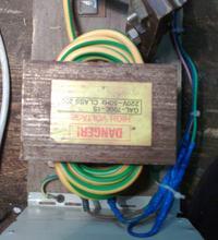 Prostownik rozruchowy na transformatorze z mikrofalówki