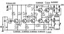 Tranzystory germanowe - eksperymenty