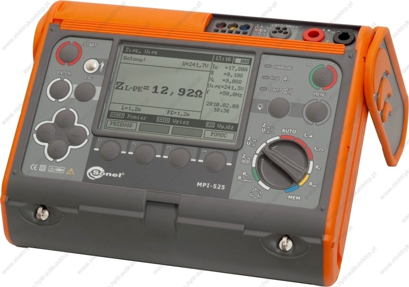 Sonel Mpi-525 - Szukam schematu i instrukcji