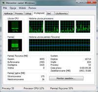 Windows 7 - Obciążenie pamięci RAM i powolna praca w systemie
