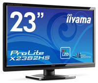 """Iiyama X2382HS - monitor z 23"""" matryc� IPS o rozdzielczo�ci Full HD"""