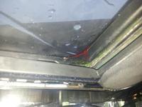 Szyberdach Golf 3 w passacie B3 - naprawiony ale strasznie przecieka!