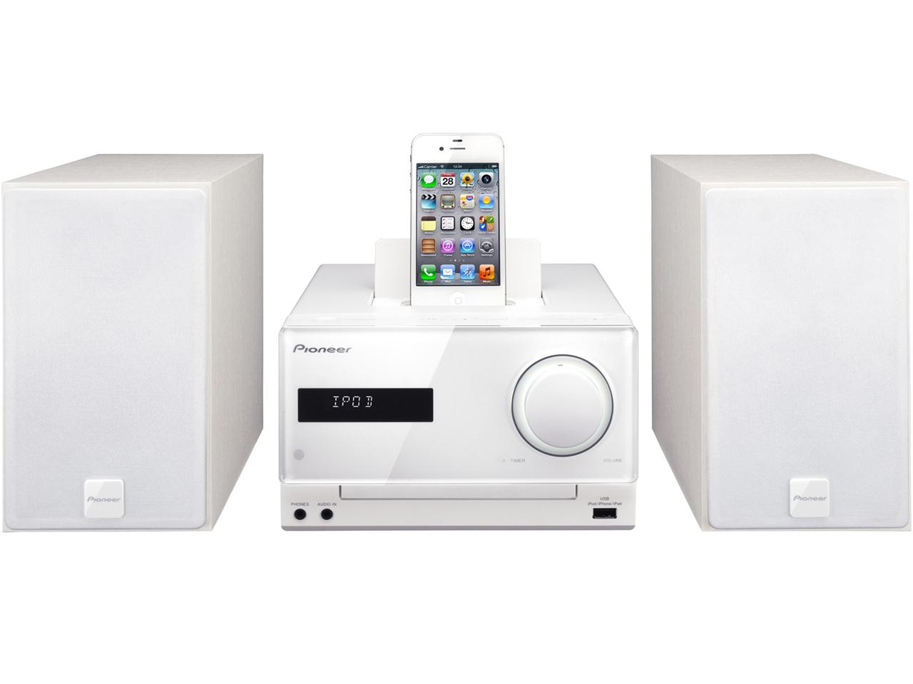 Pioneer X-CM31 - miniaturowy system graj�cy ze stacj� dokuj�c� dla iPhone