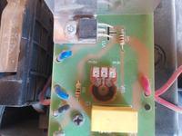 Daewoo RC-L381W - W odkurzaczu nie działa podkręcenie mocy