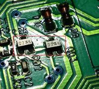 Electrolux EWT1015 (EWM 1000 Plus) - Kody tranzystory nie znam...