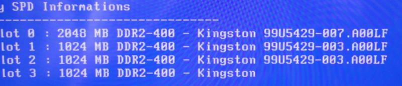 Asus P5B/Kingston kvr800d2n6k2 - RAM DDR2 dob�r i oznaczenia ko�ci