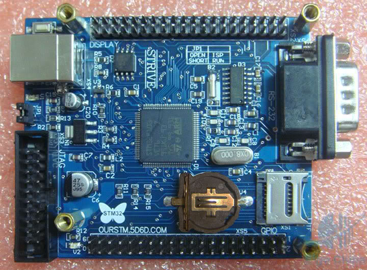 [Sprzedam] MINI STM32 Dev board STM32F103VET6 + JTAG-lock-pick 1.1.1