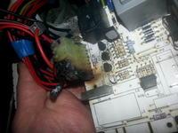 Pralka Ardo AE833 - nie pobiera wody i dymi