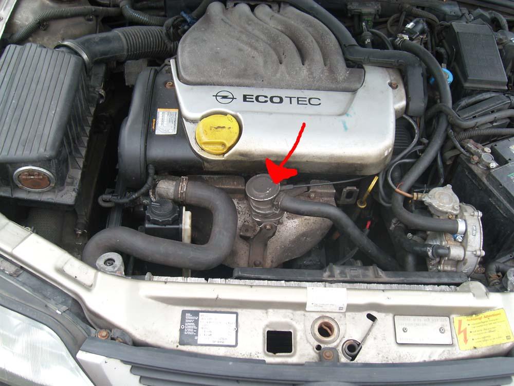 Du�e spalanie gazu Opel Vectra B 1.6 16v