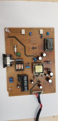 BENQ G2255 - Nie działa zasilacz, potrzebne wartości elementów.