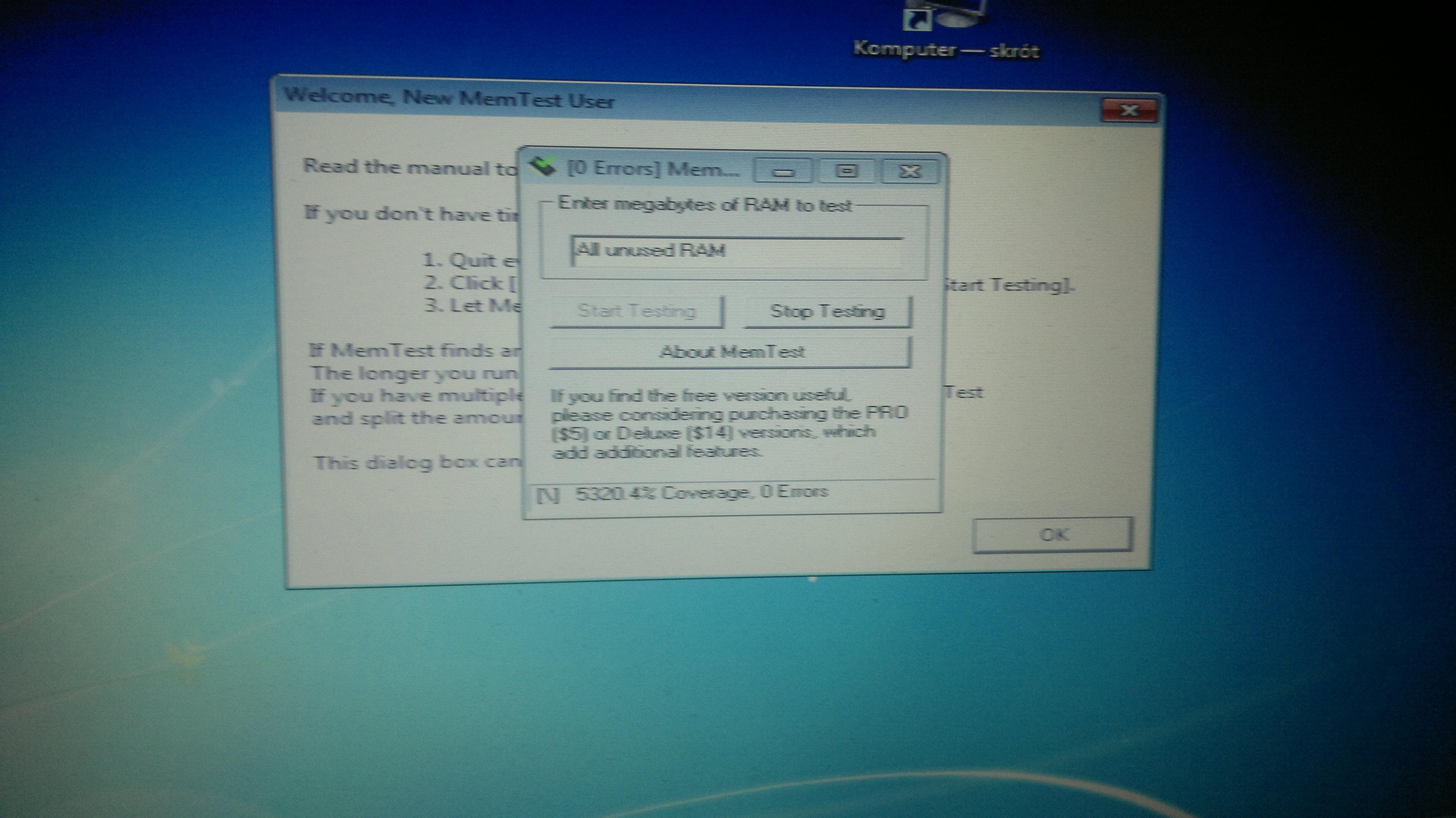 Dell Inspiron 15R - brak mozliwosci zainstalowania systemu