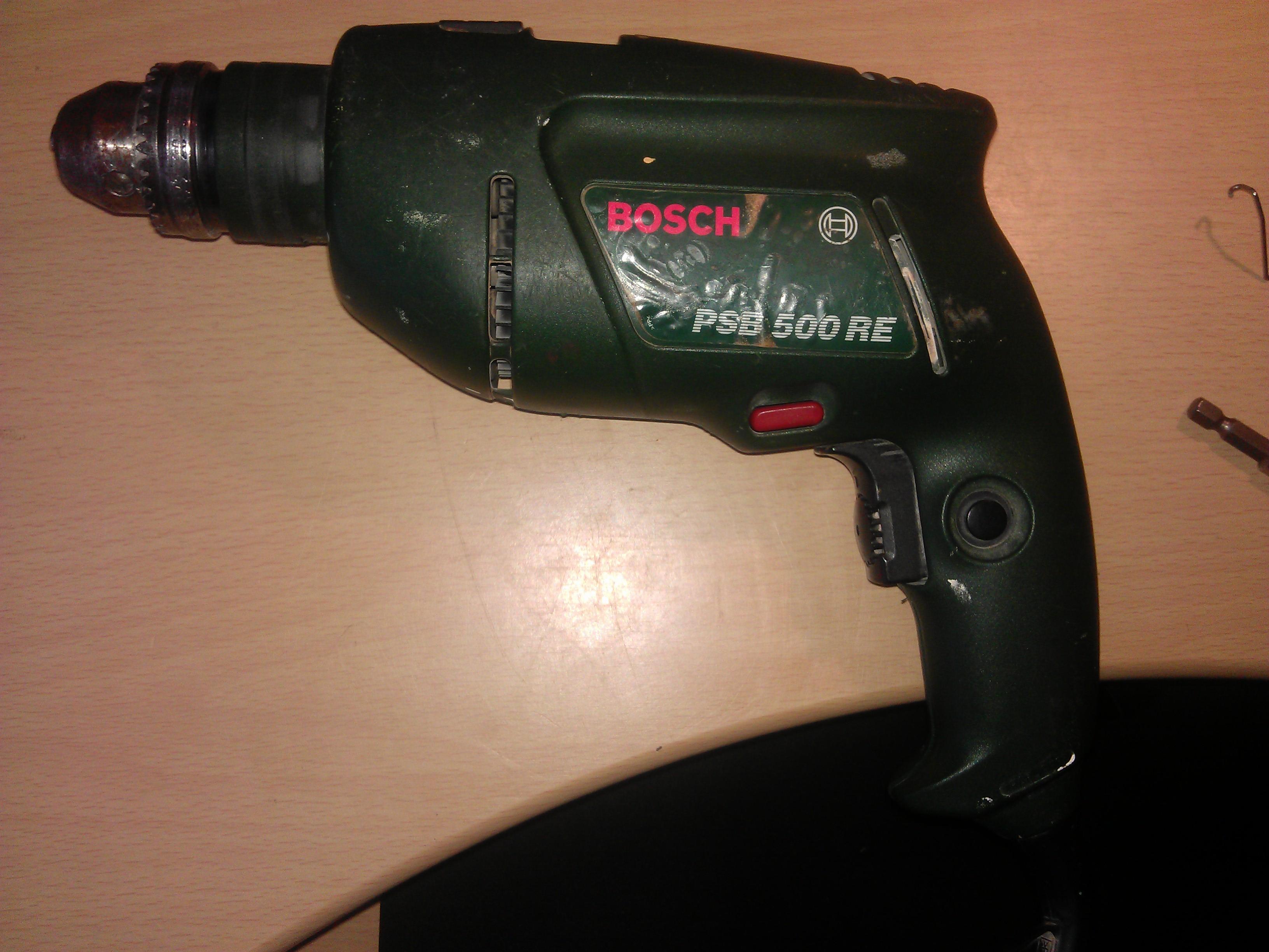 Bosch PSB 500RE - Jak rozebra�.