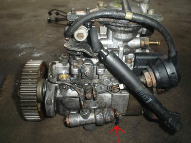 Astra F 17dtl Elektrozawór U Dołu Pompy Wtryskowej Bosch